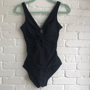 Time and Tru one piece slimming bathing suit 4-6